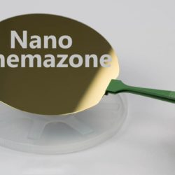 Platinum and Gold Coated Silicon Wafer