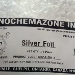 Silver Metal sheet Foil
