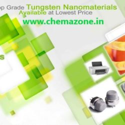 Tungsten nanoparticles powder