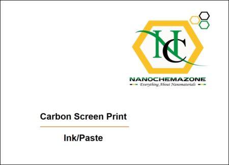 Carbon Screen Print Ink Paste