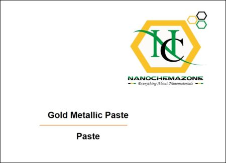 Gold paste for Screen Printing