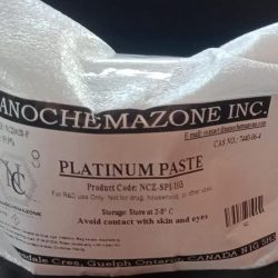 Platinum Paste and Ink for Screen Print