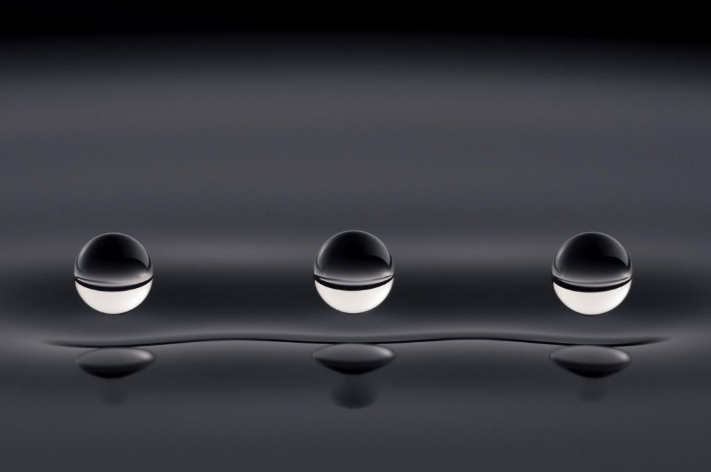 Hydrophobic coating films
