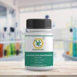 Cerium Oxide Yttria doped Nanoparticles